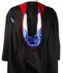 Masters Hood - VELVET, POLYESTER AND SATIN