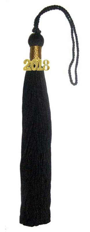 Black Graduation Tassel