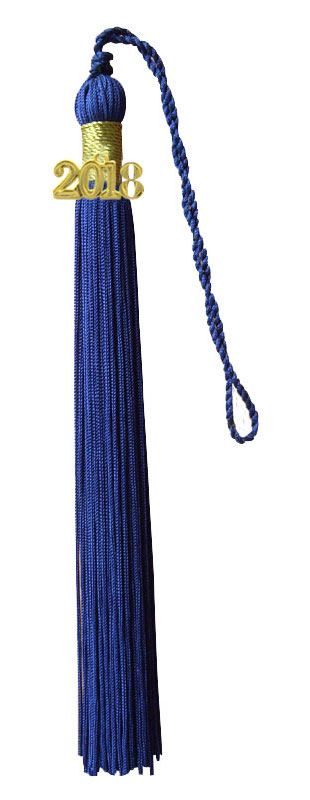 Navy Blue Graduation Tassel