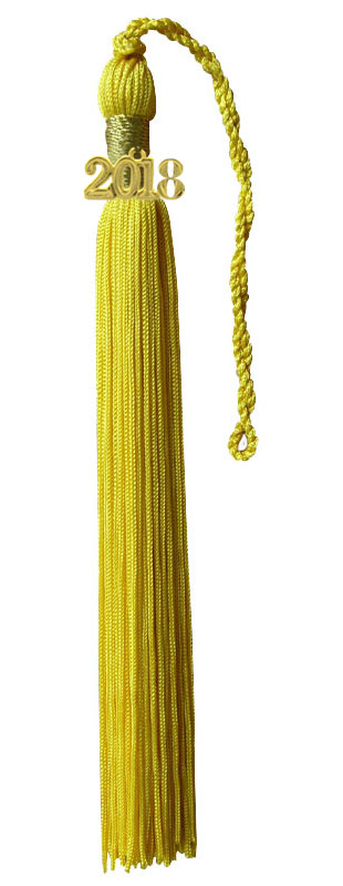 Yellow Gold Graduation Tassel