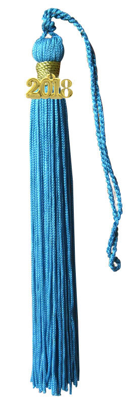 Sky Blue Graduation Tassel