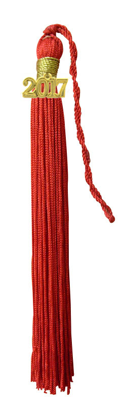 Red Graduation Tassel