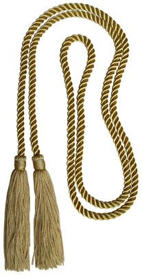 Honor Cord - LIGHT GOLD COLOR