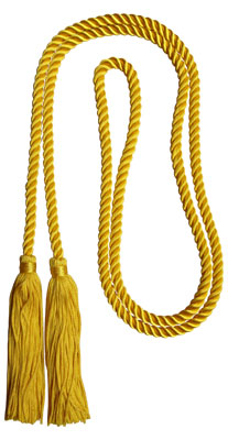 Honor Cord - YELLOW GOLD COLOR